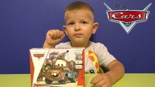 getlinkyoutube.com-Тачки - Игрушки из мультика.Сборная модель Мэтр.Disney Cars Toys