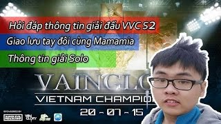 getlinkyoutube.com-[VVC2 Vainglory] Thông tin giải Vainglory Việt Nam Championship Season 2   Mini Show Solo