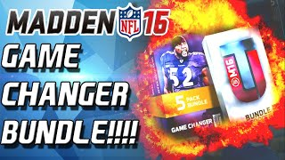 GAMECHANGER BUNDLE! DOUBLE ELITES!!!! - Madden 16 Ultimate Team