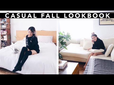 Casual Fall Lookbook 2016 || Sylvia Jade