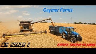 New Holland, Gaymer Twin wheat Harvest DJI Inspire 1