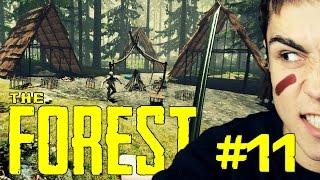 getlinkyoutube.com-Główna wioska kanibali! - The Forest #11