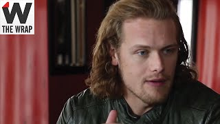 getlinkyoutube.com-'Outlander' Star Sam Heughan Tries Periscope for First Time During Wrap Shoot