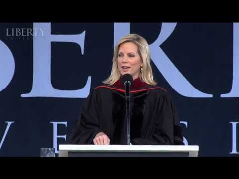 Shannon Bream - Liberty University Commencement