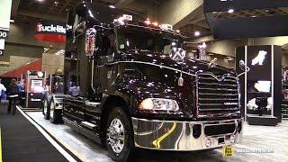 getlinkyoutube.com-2015 Mack Pinnacle CXU613 53846 Truck With Mack MP8 445C Engine - Exterior, Interior Walkaround