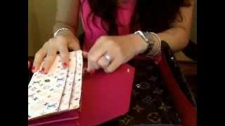 getlinkyoutube.com-Louis Vuitton Sarah vs Emilie wallets