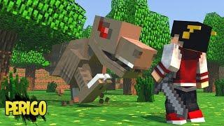 getlinkyoutube.com-Minecraft: DINOCRAFT - ESTOU EM PERIGO? ‹ 20 / AMENIC ›