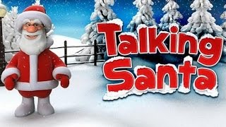 TALKING SANTA Game for Kids - iPhone iPad iOS/ Android (Gameplay / Review)