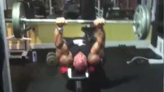 getlinkyoutube.com-Rich Piana training arms (heavy and intense) motivational!