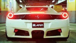Ferrari 458 Spider Blasting w/ Armytrix Titanium Exhaust