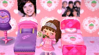 getlinkyoutube.com-One Direction Dreamin' | Animal Crossing: New Leaf (Dream Diary)