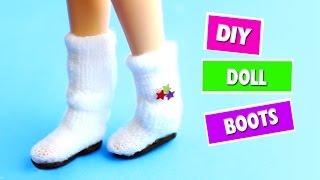 DIY | Miniature Doll Boots - Easy Doll Crafts - simplekidscrafts