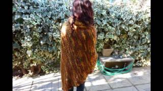 getlinkyoutube.com-Ponchos, Sweaters,chalecos Diseños Exclusivos a Medida