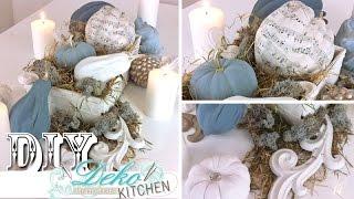 getlinkyoutube.com-DIY: Edle Herbst-Deko mit Weiß- und Pastelltönen | Deko Kitchen