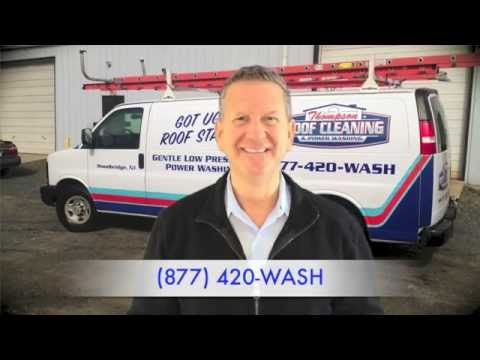 Roof Cleaning Wall New Jersey | Power Washing Services