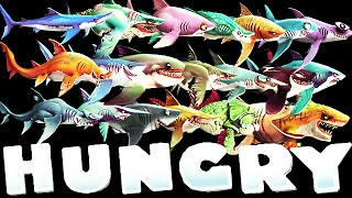 getlinkyoutube.com-Hungry Shark World - All Sharks Supersized (Pacific Islands)