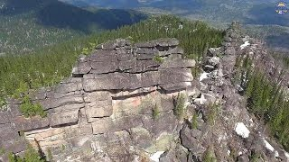 getlinkyoutube.com-Древние мегалиты Алтая - высотная съёмка. 4к видео