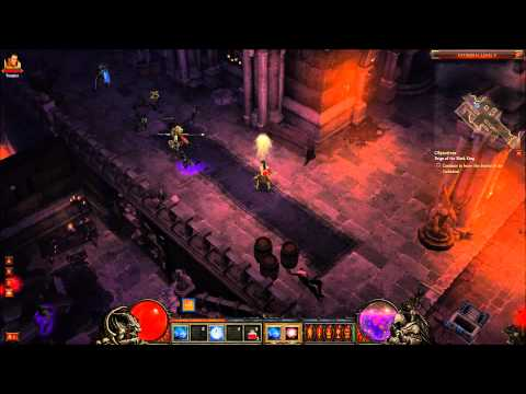 Diablo 3 Beta Wizard Skeleton King