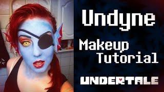 getlinkyoutube.com-Undyne (Undertale) [first version] - Makeup Tutorial