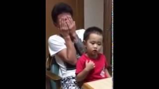 getlinkyoutube.com-【高画質】 爆笑ww 3歳児の親子喧嘩がかわいすぎる
