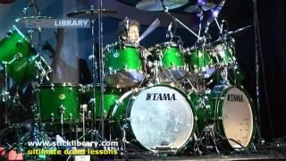 getlinkyoutube.com-Simon Phillips - Drum Solo Performance - Drum Fest 2009 Sticklibrary