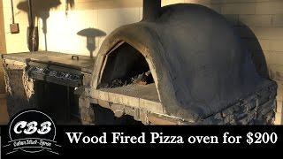 DIY Wood Fired Pizza Oven for $200