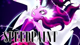getlinkyoutube.com-Midnight Sparkle [Friendship Games Speedpaint]
