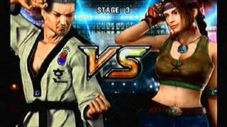 getlinkyoutube.com-Tekken 5 Story Mode: Baek Doo San [Part 1 of 2]