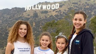 Haschak Sisters Go To HOLLYWOOD!