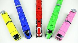 getlinkyoutube.com-Train robot 파워레인저 트레인포스 트레인킹 다이노포스 후속 기차 장난감 Power Rangers Toqger train toy