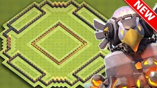 "getlinkyoutube.com-Clash Of Clans | ""NEW"" BEST (TH11) TOWN HALL 11 TROPHY BASE 