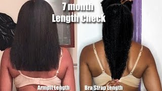 7 Month Length Check | Armpit Length to Bottom of Bra Strap