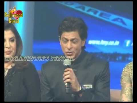 Shah Rukh Khan & Team at 'Happy New Year' Music Launch Part-3