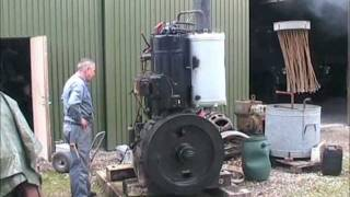 getlinkyoutube.com-Hundested engine #3 - 45 HP semidiesel