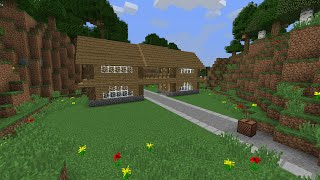 getlinkyoutube.com-Minecraft Command Blocks - Auto-building House