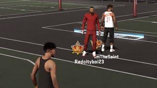 getlinkyoutube.com-NBA 2K15 My Park | RedCityBoi Debo's Saints Spot !