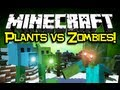Minecraft: PLANTS VS ZOMBIES MOD Spotlight! - Flower Power! (Minecraft Mod Showcase)