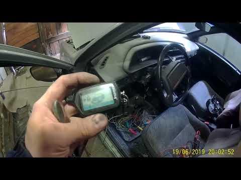 Автоэлектрик за донат. ВАЗ 2114 установка сигнализации с автозапуском.