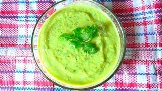 getlinkyoutube.com-Salsa Verde de Aguacate - Mi Cocina Rápida