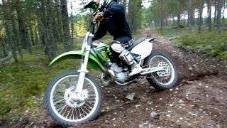 getlinkyoutube.com-KX 250 FMF Gnarly.VForce3 - Autumn Ride