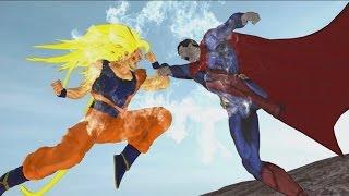 getlinkyoutube.com-goku vs superman - the movie - episode 3