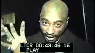 Tupac - Interview after leaving the Court House