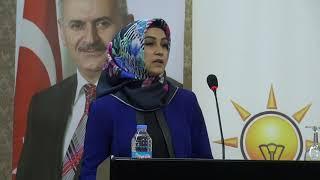 Melek Aydın Aksaray Ak Parti Aday Tanıtım Programında Konuştu