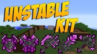 UNSTABLE KIT: Armadura Chetada De Un Ore Que NosHace Daño - Minecraft Mod 1.9