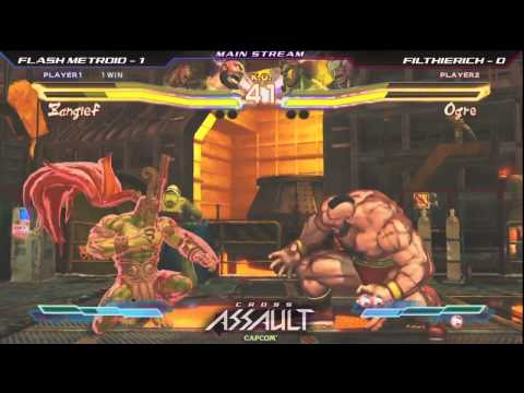 Flash Metroid vs Filthie Rich - Cross Assault Exhibition - Street Fighter X Tekken