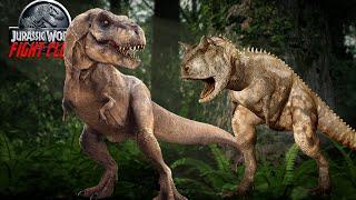 getlinkyoutube.com-Jurassic World Fight Club Episode 4 - Carnotaurus vs Tyrannosaurus Rex (Minecraft Dinosaurs)