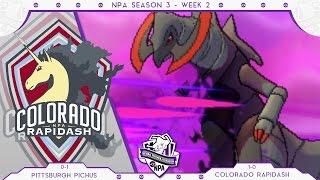 THE CLUTCH MISS THOUGH?! NPA S3 W2 VS Colorado Rapidash   Pokemon Sun & Moon LIVE WiFi Battle