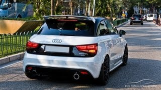 getlinkyoutube.com-Audi A1 Quattro MTM - Accelerations in Monaco