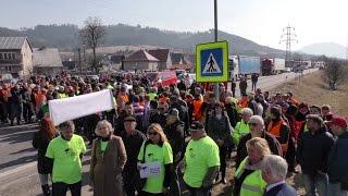 Kysučania pokračujú v boji za výstavbu D3 Čadca - Žilina
