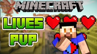 getlinkyoutube.com-Minecraft LIVES PVP #1 with The Pack (Minecraft PVP)
